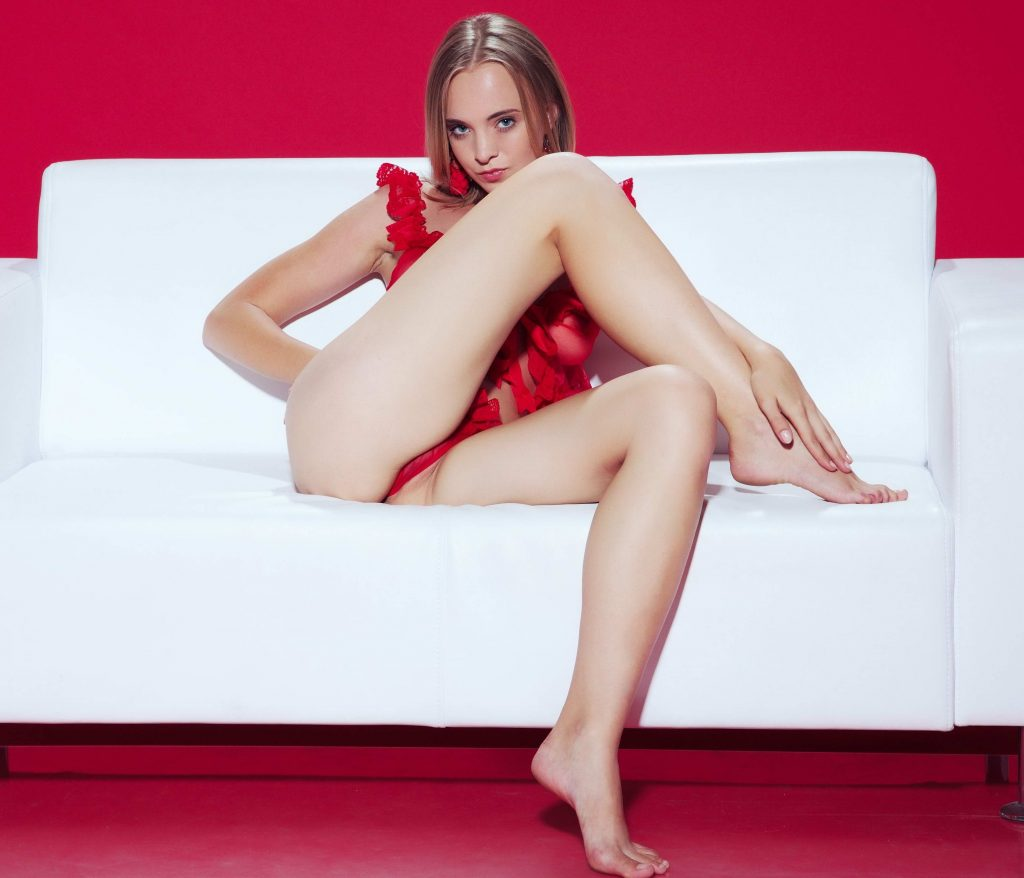Cheap London Escorts - Young Girl Crossed Sexy Legs